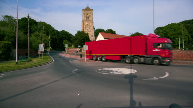 ely & middleton - articulated lorry stock videos and b-roll footage