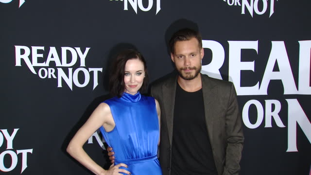 """elyse levesque at the """"ready or not"""" los angeles special screening presented by fox searchlight pictures in los angeles ca - fox searchlight pictures stock videos & royalty-free footage"""