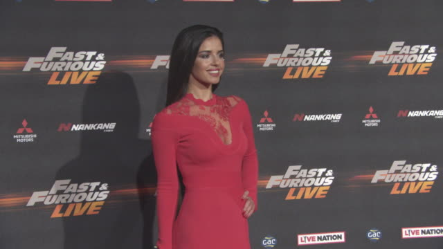 Elysia Wren at 'Fast Furious Live' World Premiere on January 19 2018 in London England