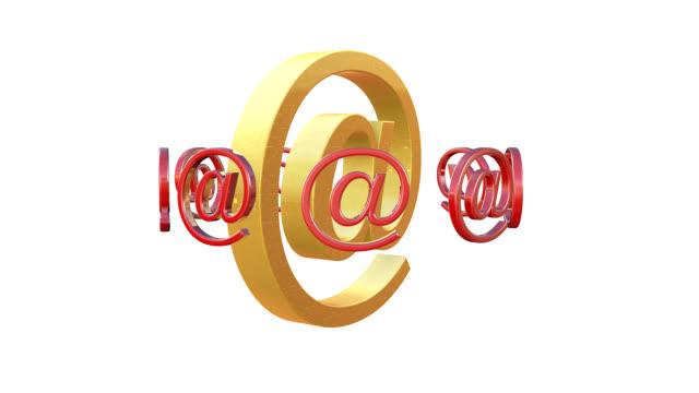 e メールのアニメーション - e mail点の映像素材/bロール