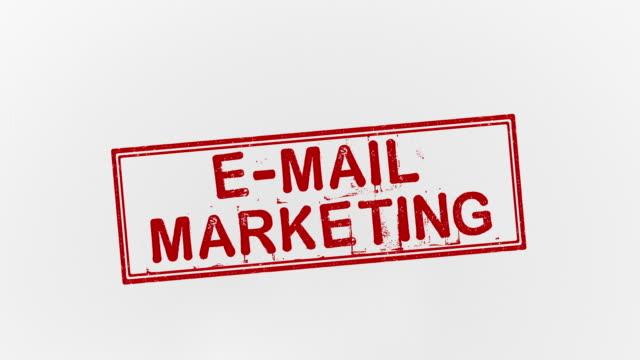 電子メールマーケティング - e mail点の映像素材/bロール