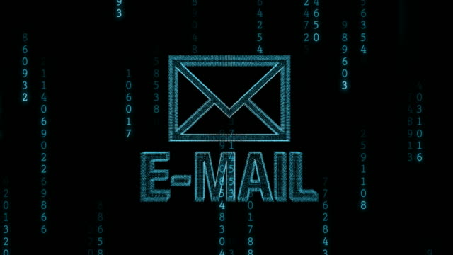 e メール - e mail点の映像素材/bロール