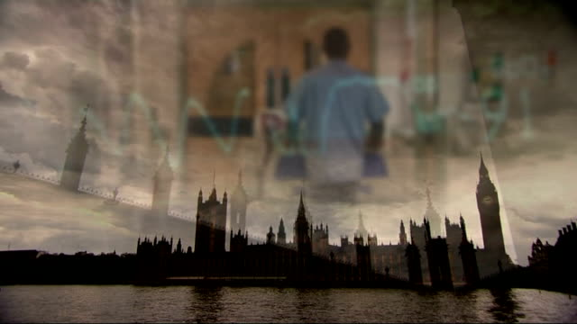 emails show government discussed using foreign firms to manage nhs hospitals england general views house of commons and palace of westminster with... - porter stock videos & royalty-free footage