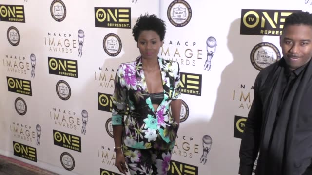 Emayatzy Corinealdi at the 48th NAACP Image Awards Nominees' Luncheon on January 28 2017 in Hollywood California
