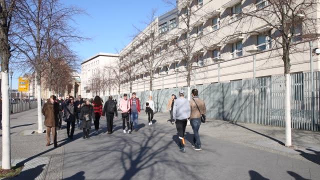 us embassy in berlin - us embassy stock videos & royalty-free footage