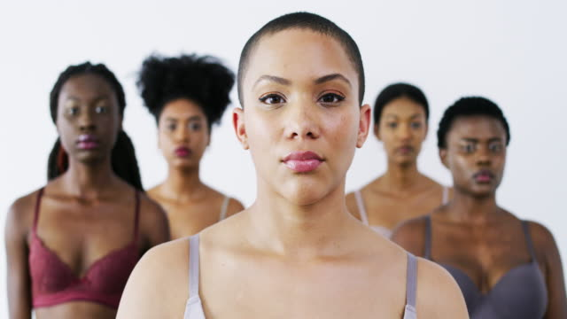 embracing every shade of beauty - the human body stock videos & royalty-free footage