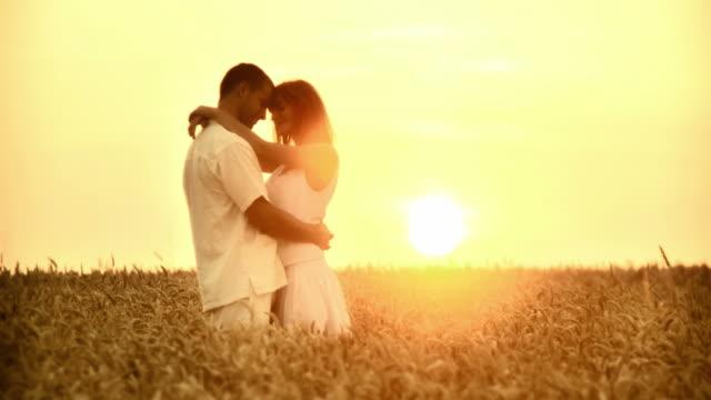 HD: Embracing In A Wheat Field