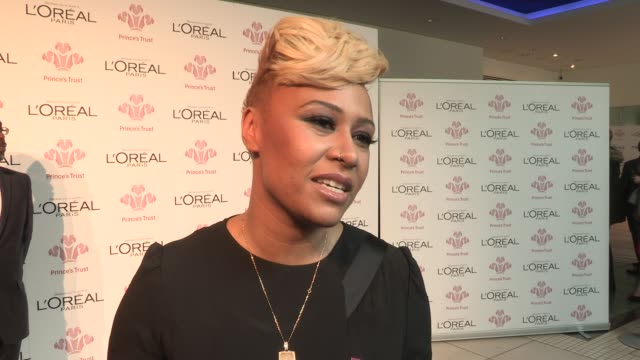 emeli sande on recently becoming an ambassador at the prince's trust and l'oreal paris celebrate success awards at odeon leicester square on march... - ambassador stock videos & royalty-free footage