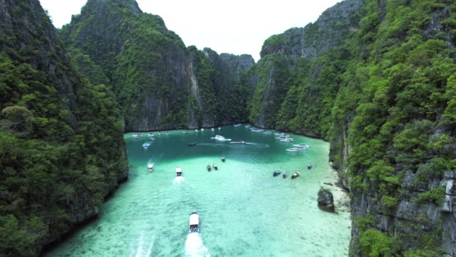 emerald island perfect crystal clear - thailand stock videos and b-roll footage