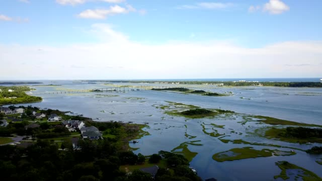 emerald isle high rise - north carolina beach stock videos & royalty-free footage