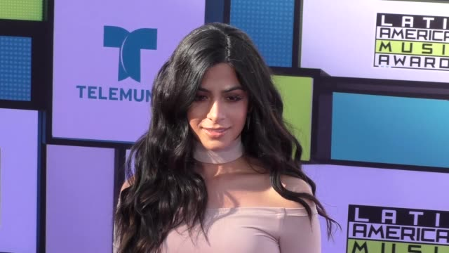 Emeraude Toubia at the 2016 Latin American Music Awards at Dolby Theatre in Hollywood at 2016 Latin American Music Awards on October 06 2016 in...