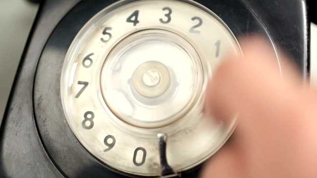 emergency call - rotary phone stock videos and b-roll footage