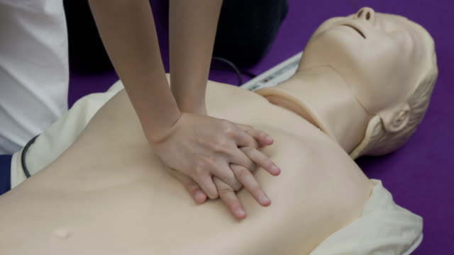 emergency cpr - cpr stock videos & royalty-free footage