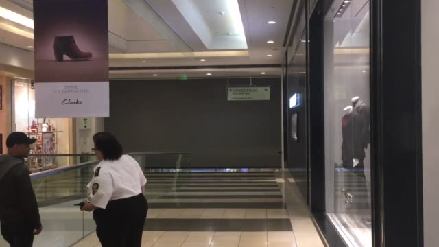 stockvideo's en b-roll-footage met emergency crews were called to the scene at westfield san francisco centre at around 740pm forcing evacuations of the west side of the mall the mall... - nordstrom