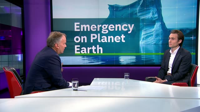 emergency on planet earth: greenland's ice melting four times faster than predicted; england: london: gir: int david wallace-wells studio interview... - melting stock videos & royalty-free footage