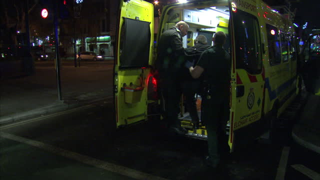emergency service personnel accident emergency staff have spoken to sky news about the pressures facing them as they deal with a surge of alcohol... - friday stock videos & royalty-free footage