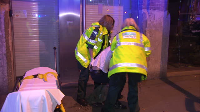 emergency services across the country were braced for a busy time last night with millions of people hitting the town for the last weekend before... - alcohol abuse stock videos & royalty-free footage