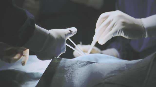 緊急外科チーム - 直腸点の映像素材/bロール