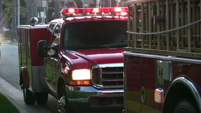 (hd1080i) emergency vehicles - fire engine stock videos & royalty-free footage
