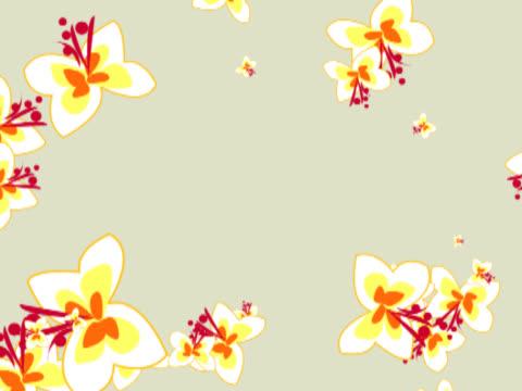 stockvideo's en b-roll-footage met emerging floral pattern - bloemenmotief