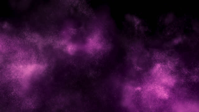 emerging particle cloud (purple) - smoke physical structure stock videos & royalty-free footage