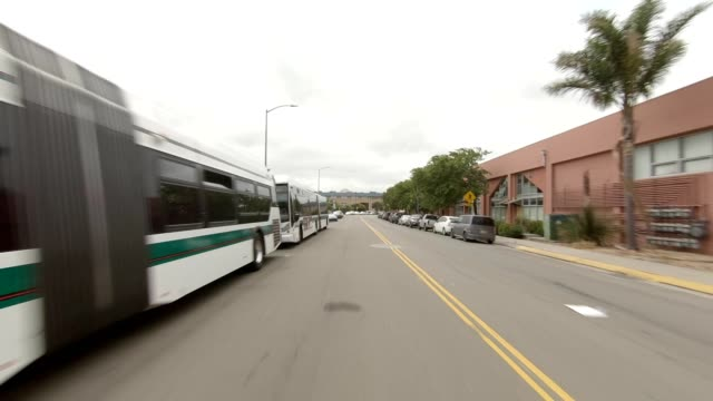 emeryville california i synced series rear view driving process plate - emeryville stock videos & royalty-free footage