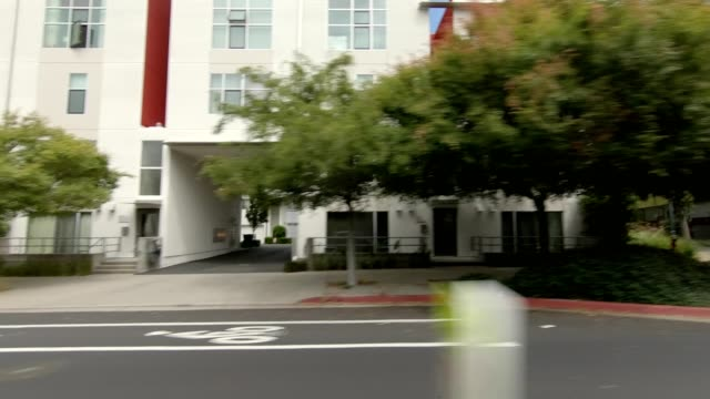 emeryville california iii synced series left view driving process plate - emeryville stock videos & royalty-free footage