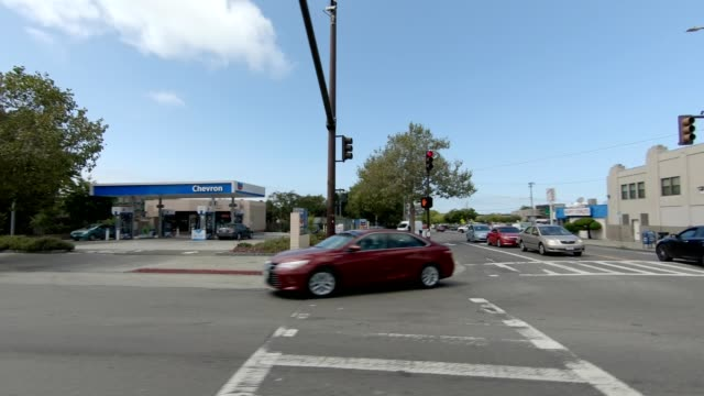 emeryville california ix synced series left view driving process plate - emeryville stock videos & royalty-free footage