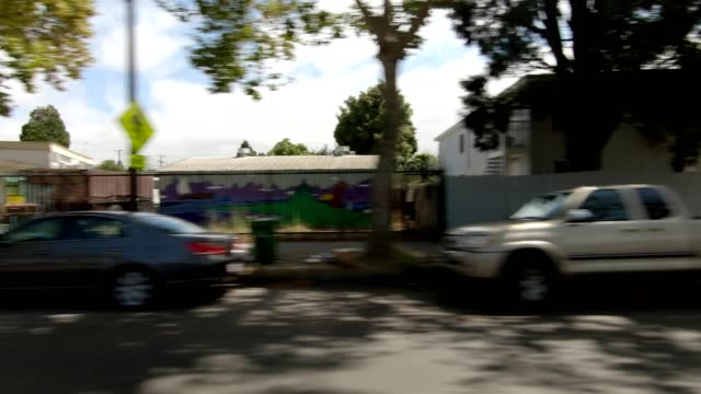 emeryville california vi synced series right view driving process plate - emeryville stock videos & royalty-free footage