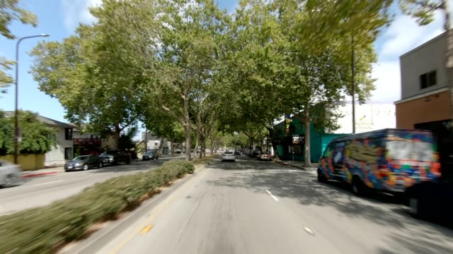 emeryville california viii synced series front view driving process plate - emeryville stock videos & royalty-free footage