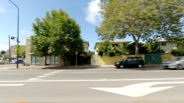 emeryville california viii synced series left view driving process plate - emeryville stock videos & royalty-free footage