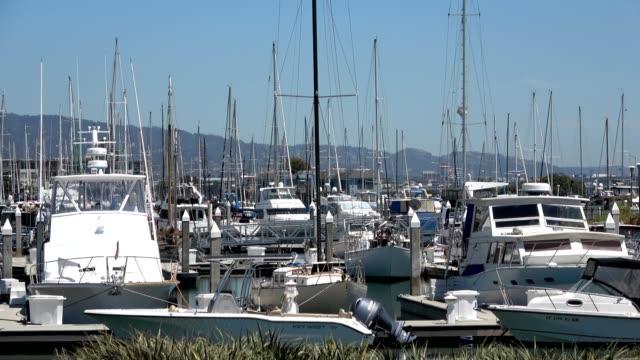 emeryville marina - emeryville stock videos & royalty-free footage