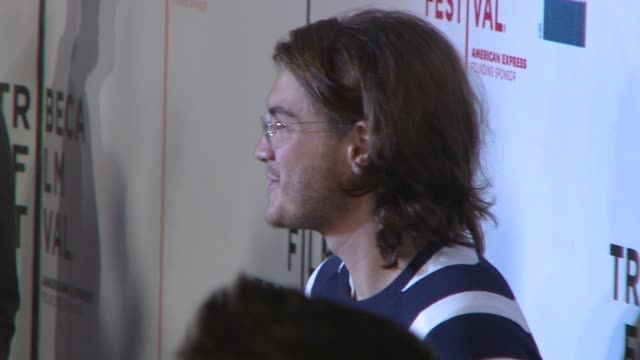 emile hirsch at the speed racer premiere at the 7th annual tribeca film festival at borough of manhattan community college / tribeca performing arts... - community college stock videos & royalty-free footage