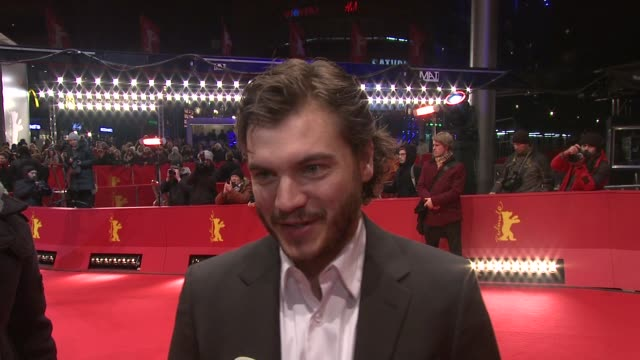 INTERVIEW Emile Hirsch on acting in the film and on getting overweight for at 'Prince Avalanche' Premiere 63rd Berlinale International Film Festival...