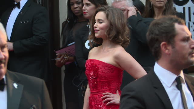 Emilia Clarke at GQ Men of The Year Awards on September 08 2015 in London England