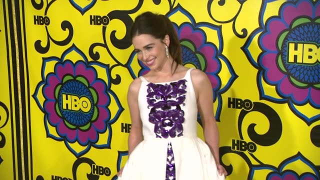 Emilia Clarke at HBO'S Post 64th Primetime Emmy Awards Reception on 9/23/2012 in West Hollywood CA