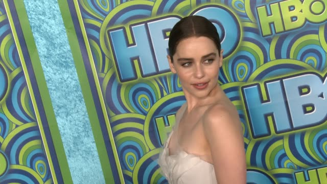 emilia clarke at hbo's post 65th primetime emmy awards reception in los angeles, ca, on 9/22/13. - emmy awards stock videos & royalty-free footage
