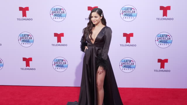 emilia mernes at the latin american music awards 2019 at dolby theatre on october 17 2019 in hollywood california - the dolby theatre video stock e b–roll