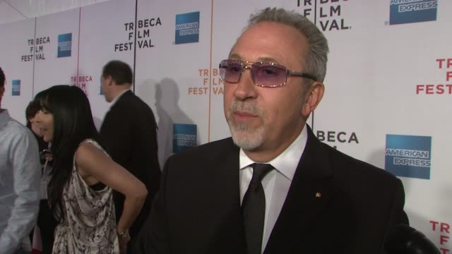 emilio estefan talks about the premise of the documentary, why it's so important, the film's small budget and initial lack of support, the... - ドキュメンタリー映画点の映像素材/bロール