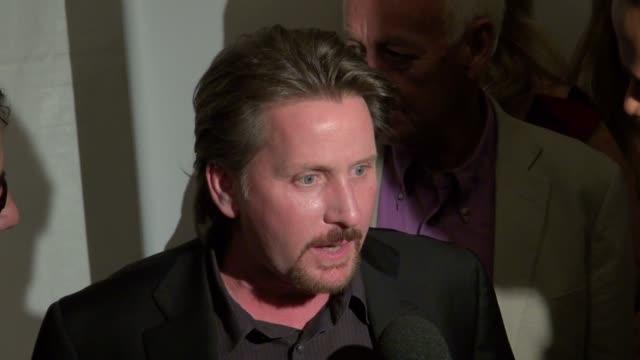 emilio estevez at 'the way' premiere in new york on 10/5/2011 - emilio estévez video stock e b–roll