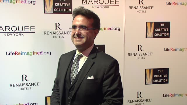 stockvideo's en b-roll-footage met emilio pardo at the creative coalition's spotlight awards dinner gala at marquee on october 14 2014 in new york city - pardo