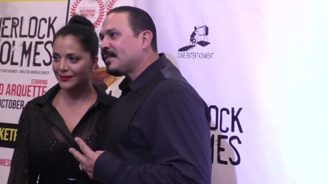 emilio rivera at the opening night of sir arthur conan doyle's sherlock holmes at the montalban theatre in hollywood - celebrity sightings on october... - arthur conan doyle stock videos & royalty-free footage