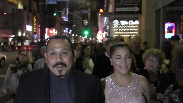 INTERVIEW Emilio Rivera talks about the Sons Of Anarchy spinoff outside the Roosevelt Hotel in Hollywood in Celebrity Sightings in Los Angeles