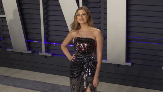 emily arlook at 2019 vanity fair oscar party hosted by radhika jones at wallis annenberg center for the performing arts on february 24, 2019 in... - vanity fair oscar party stock videos & royalty-free footage