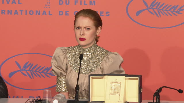 INTERVIEW Emily Beecham on being surprised that his won Best Actress getting on a plane first thing in the morning at Closing Ceremony Press...