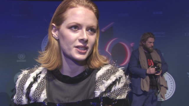 INTERVIEW Emily Beecham on her nomination her character seeing the cast and crew again at British Independent Film Awards at Old Billingsgate on...