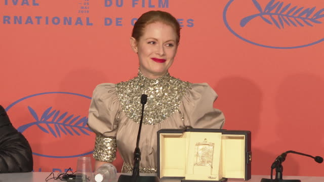 Emily Beecham wins the best actress at Closing Ceremony Press Conference ' The 72nd Cannes Film Festival on May 25 2019 in Cannes France