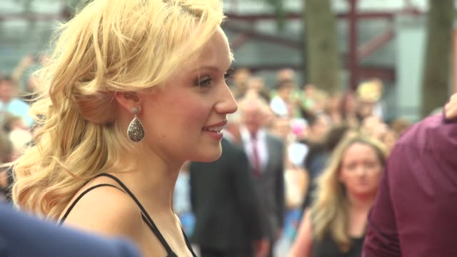 emily berrington at 'the inbetweeners 2' premiere at vue west end on august 05, 2014 in london, england. - emily berrington stock videos & royalty-free footage