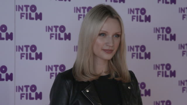 emily berrington at the into film awards 2018 at bfi southbank on march 13, 2018 in london, england. - emily berrington stock videos & royalty-free footage