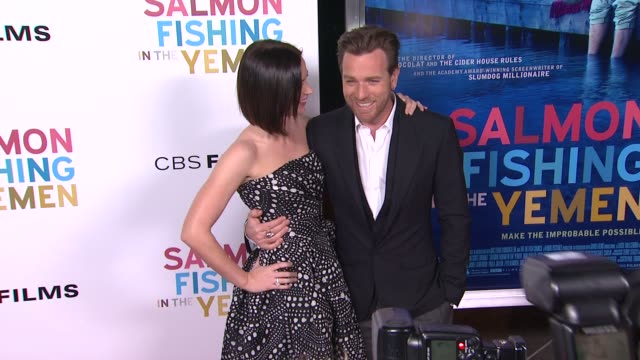 Emily Blunt and Ewan McGregor at Salmon Fishing In The Yemen Los Angeles Premiere on 3/5/2012 in Los Angeles CA